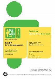 Certificaat BOW tm 2020